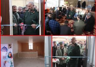 افتتاح ۲ باب منزل مسکونی محرومین بوسیله سپاه ناحیه شهرستان بن